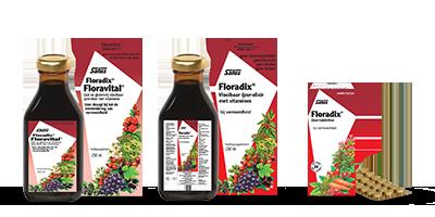 salus floradix vloeibaar floravital tabletten