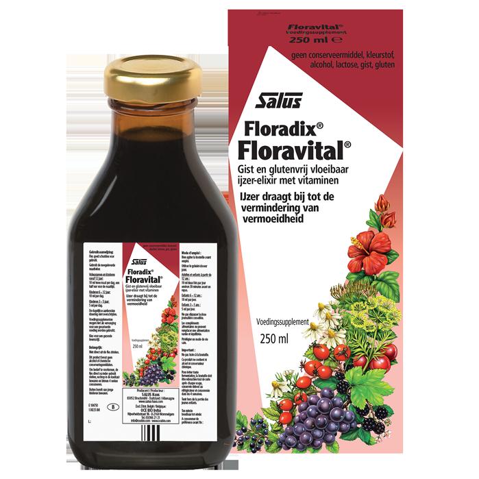 floravital ijzer vermoeidheid